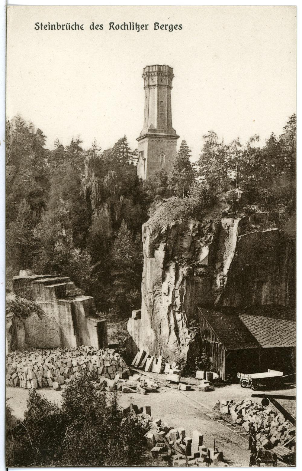 File:24639 Rochlitz 1929 Steinbrüche Des Rochlitzer Berges Brück U0026 Sohn