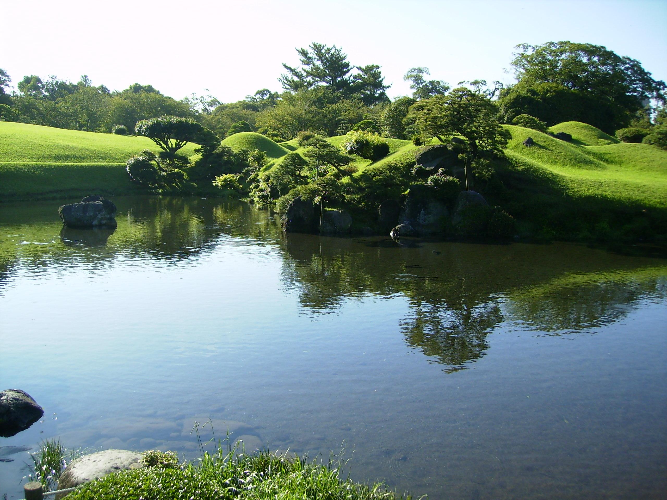 File 697 Suizenji Pond Jpg Wikimedia Commons