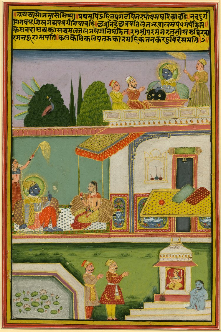 6 Asoja (september-october). Barahmasa series. Jaipur, ca. 1800, British Museum.jpg