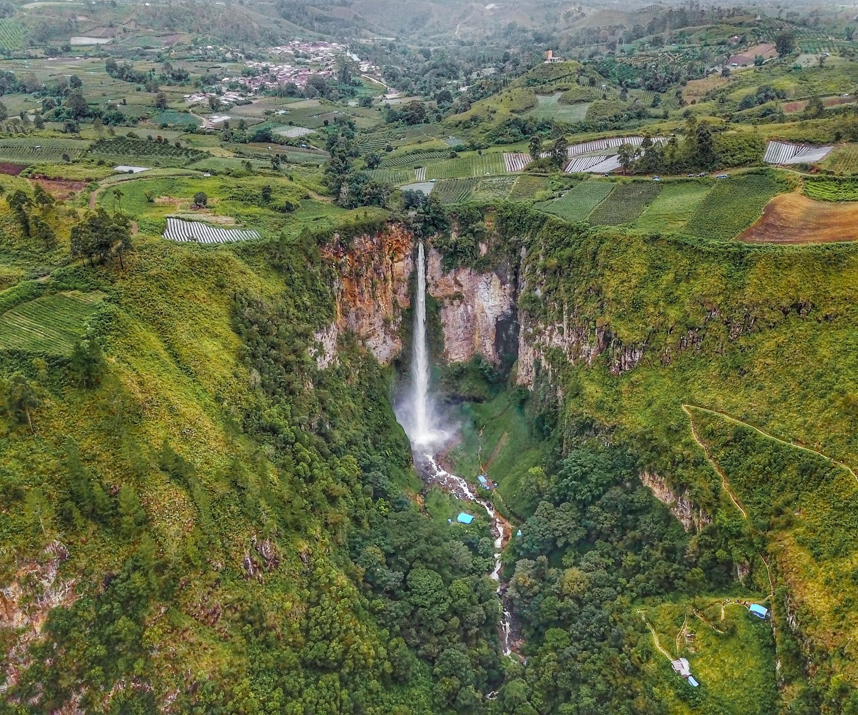 101+ Gambar Air Terjun Sipiso Piso Sumatera Utara Terlihat Keren