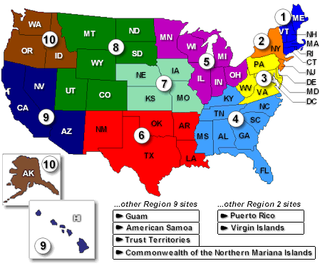 Map of the 10 ATSDR regions. ATSDR regionmap.png