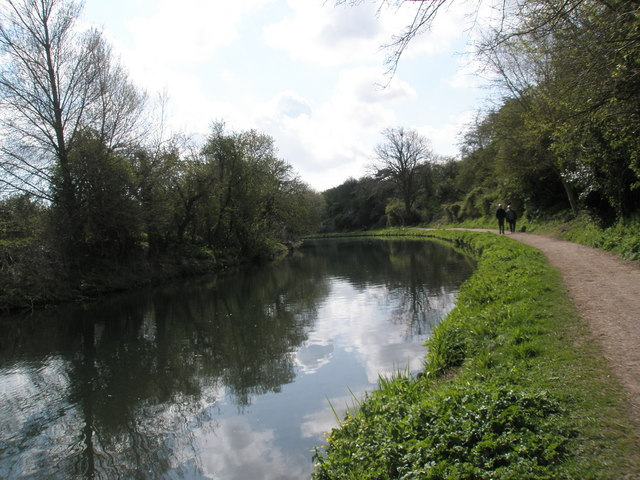 A peaceful canalside walk at Chichester - geograph.org.uk - 758601