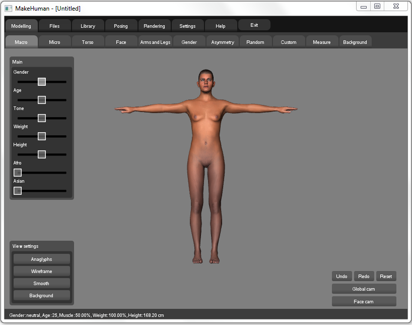 makehuman alpha 7