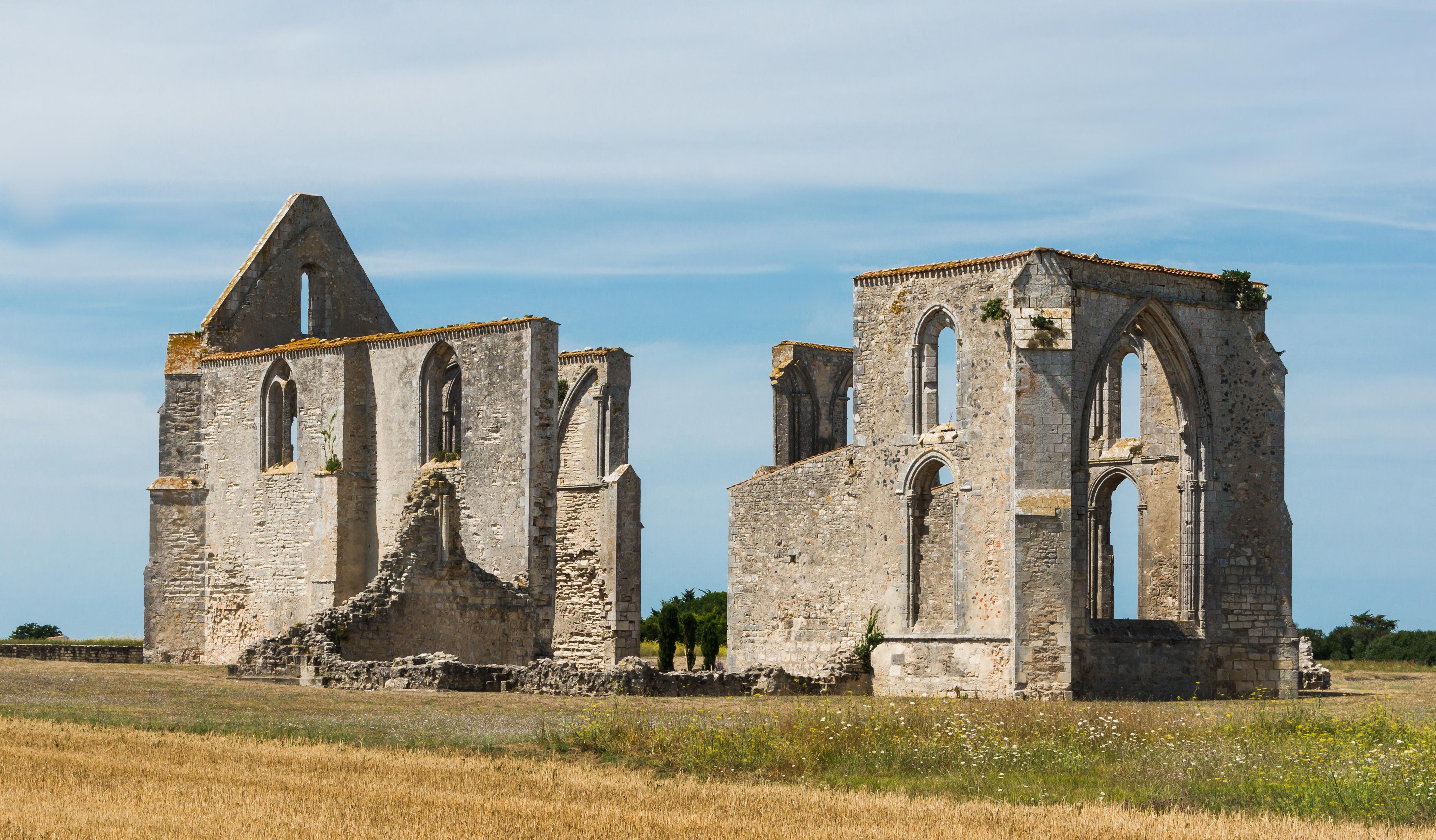 Abbaye Notre-Dame de Ré, Ré island, Charente-Maritime, France.jpg English: Abbey Notre-Dame de Ré, Ré island, Charente-Maritime, France Français : Abbaye