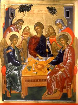 Abraham and the angels η φιλοξενία του Αβραάμ