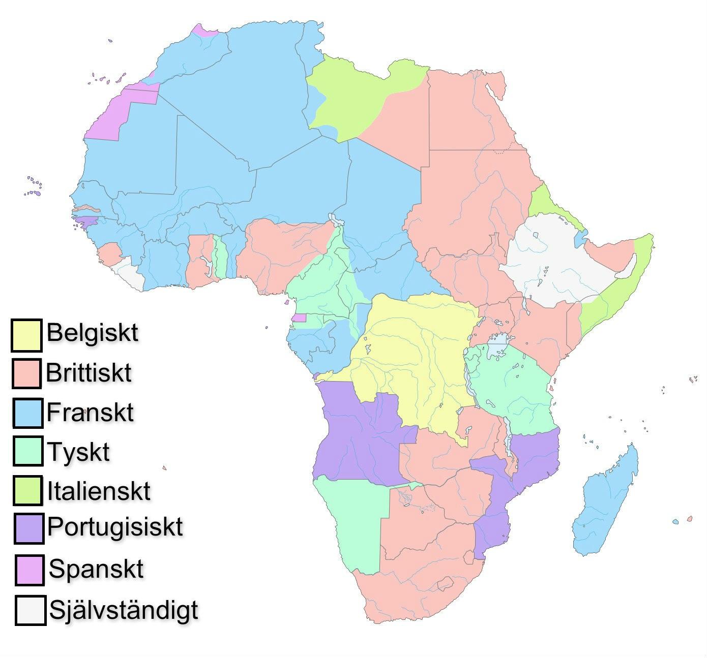 Lagenhet Namn Karta Enkel Land Medborgare Etiketter Afrika