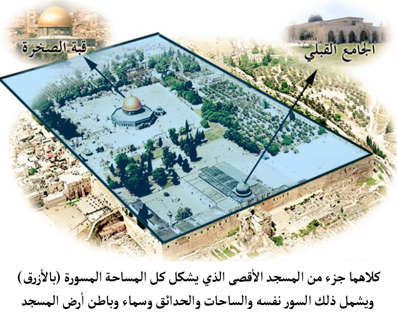 نتنياهو يضغط لتسريع إقرار قانون Al-Aqsa_Mosque_distance.jpg
