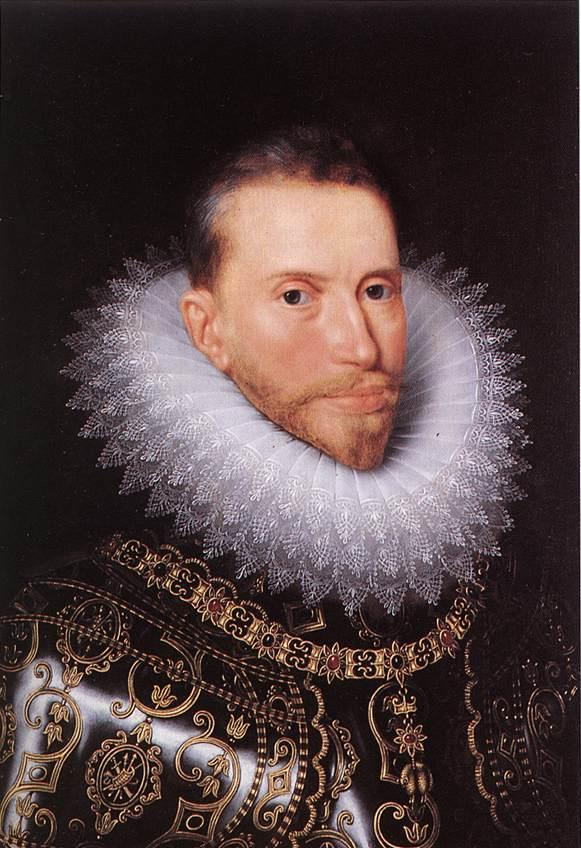 Alberto de Austria por Frans Pourbus el Joven.