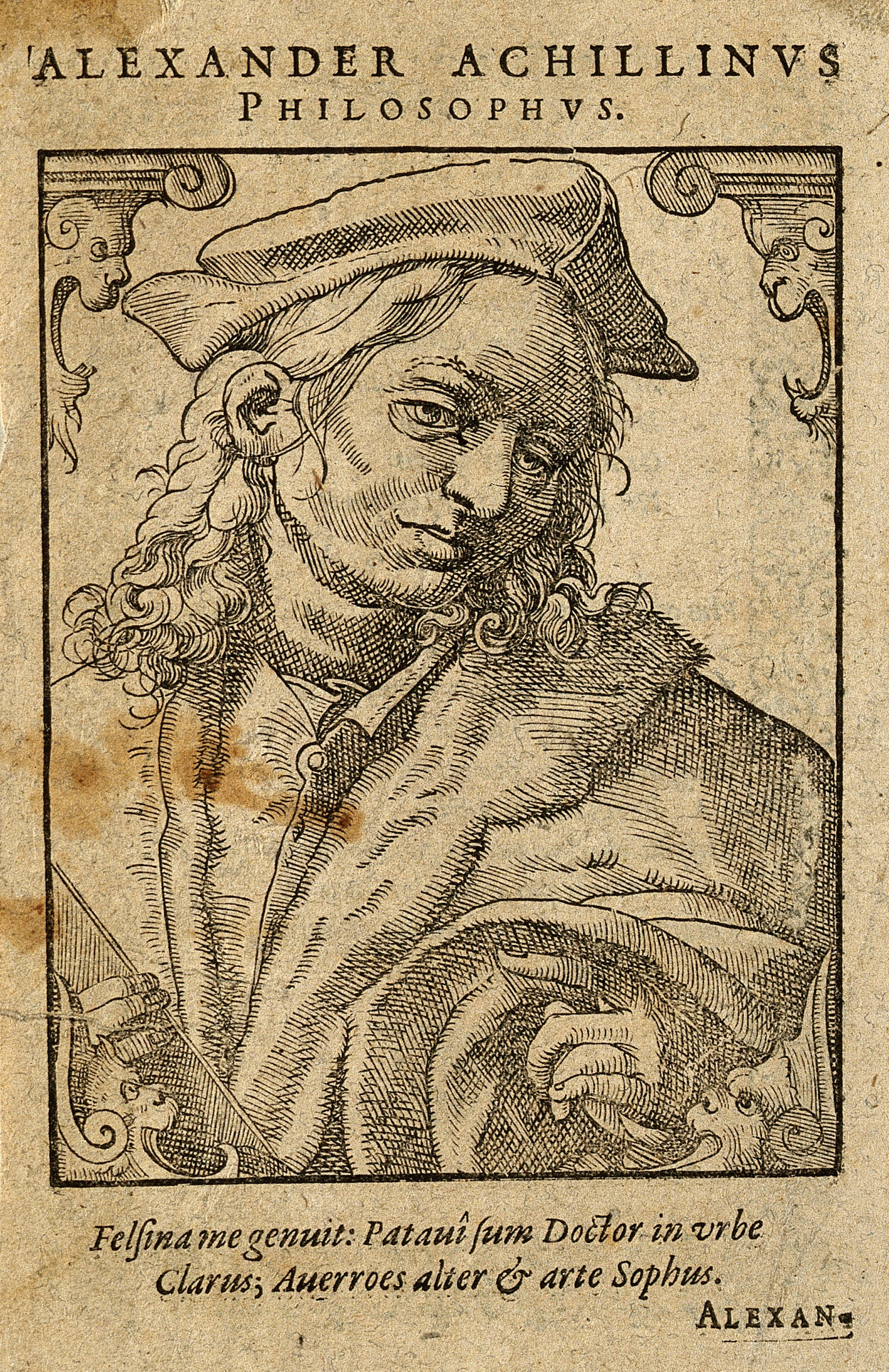 Woodcut by T. Stimmer, 1589. Wellcome V0000031.