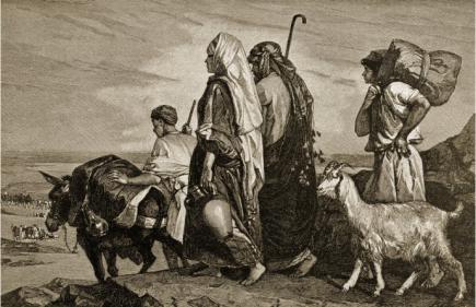 Bestand:Alexandre-bida-the-exile-from-judah i-G-14-1457-AFBQ000Z.jpg