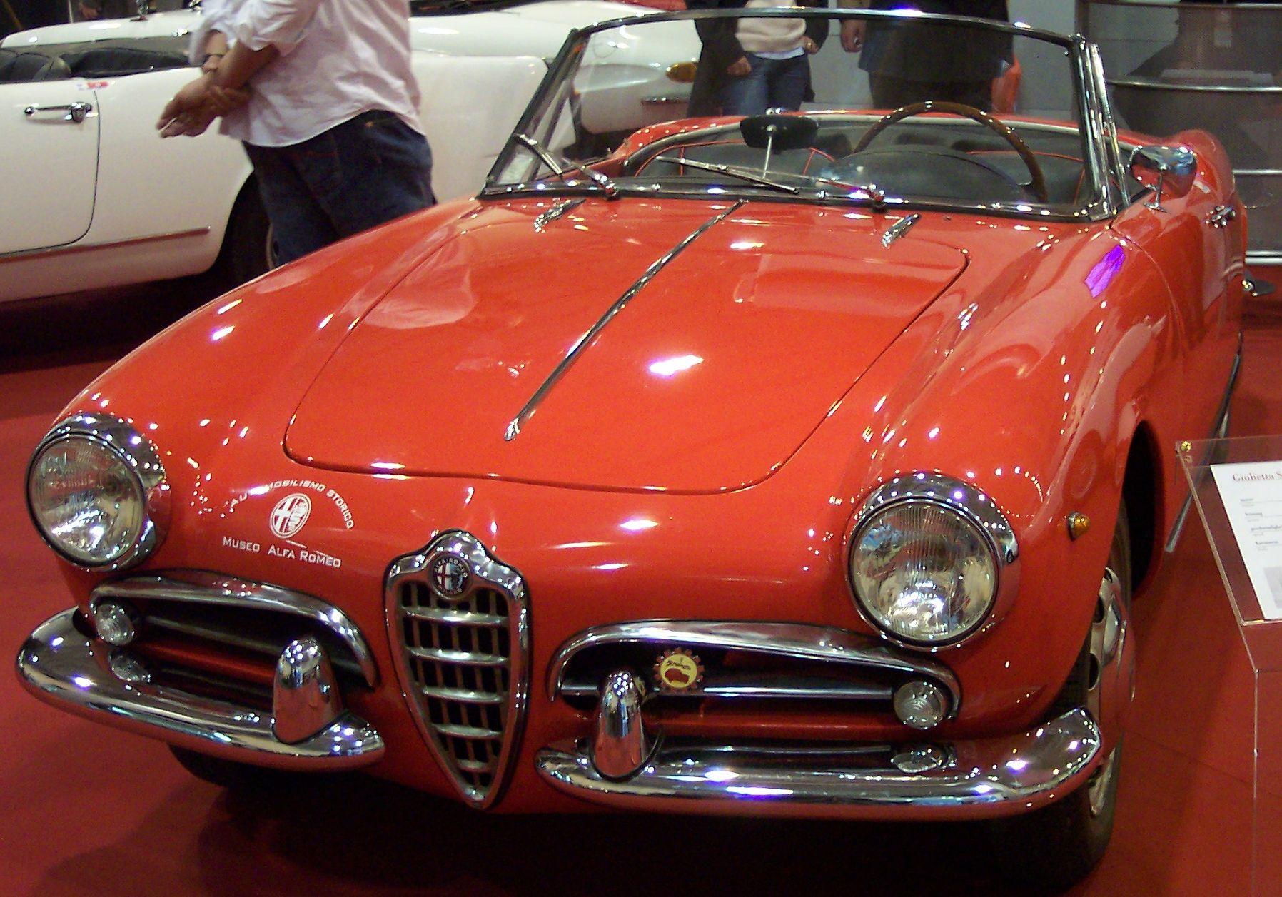 File:Alfa Romeo Giulietta Spider Veloce 1960 Red Vl TCE