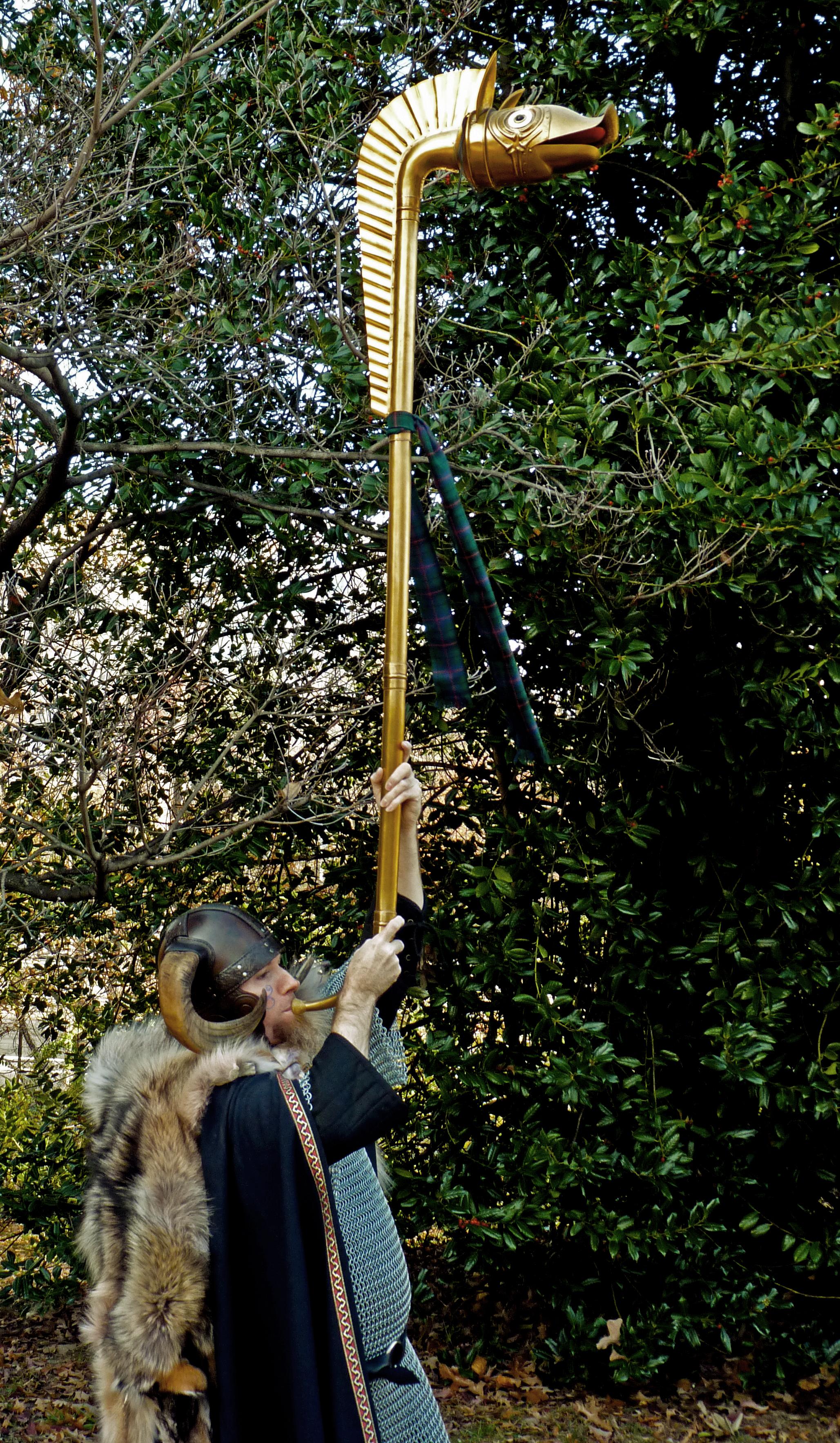 Ancient Celt Playing Carnyx War Trumpet.jpg