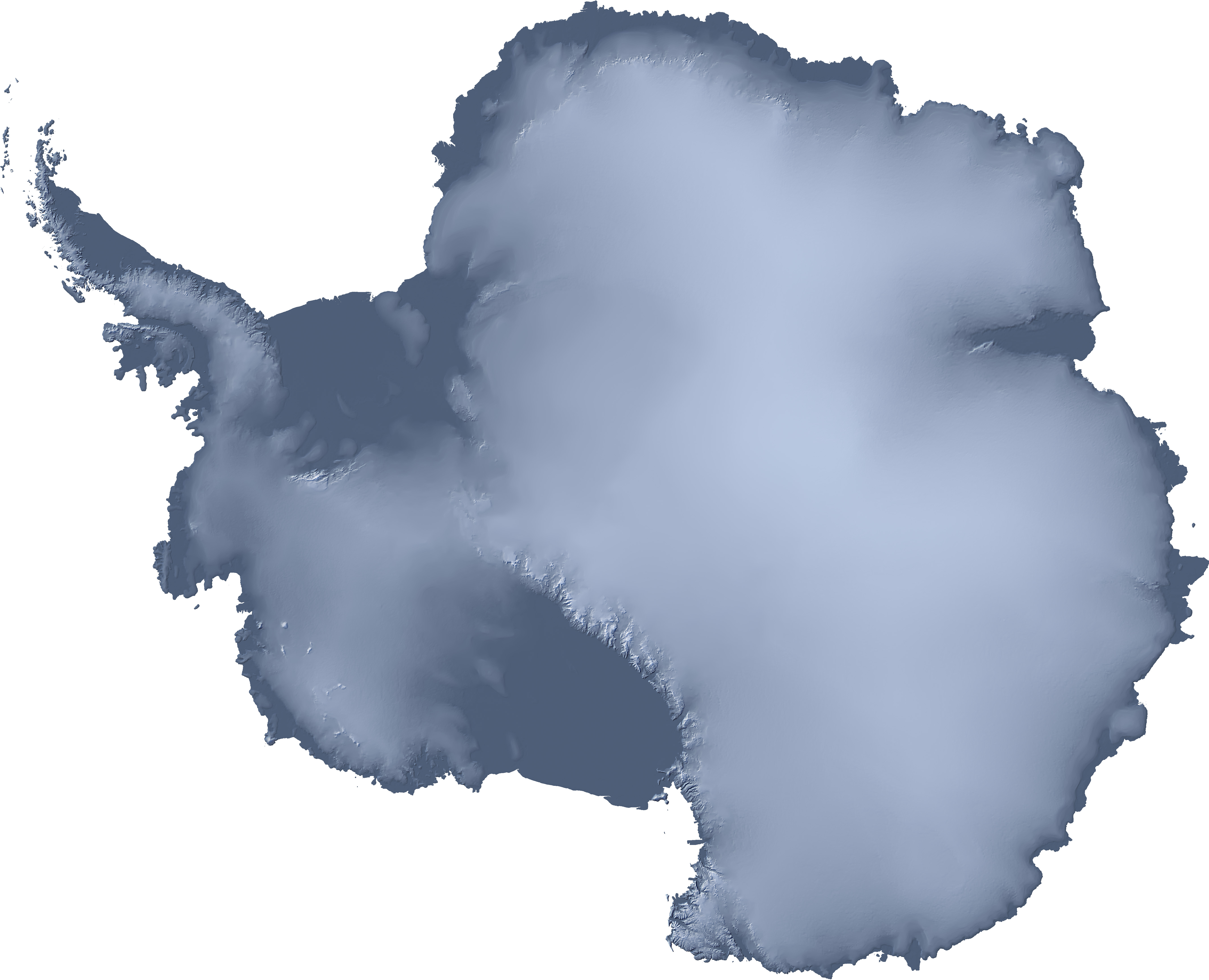 File:Antarctica unlabeled physical map.jpg - Wikimedia Commons