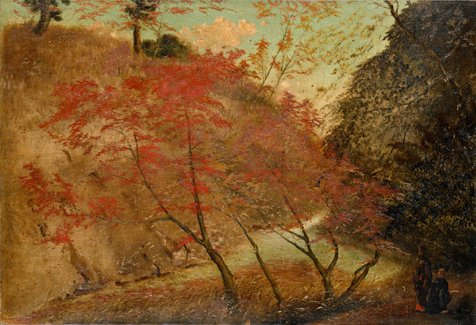 Ca s'est passé en juillet ! Autumn_Leaves_in_Takinogawa_by_Takahashi_Yuichi_%28Pola_Museum_of_Art%29