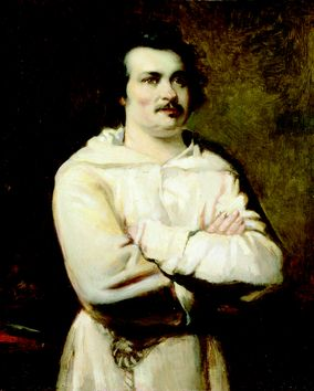 Honoré de Balzac (1799-1850), student at de Ve...