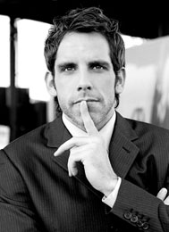 Ben Stiller photographed by Jerry Avenaim