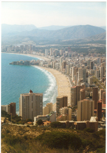 Benidorm's skyline represents the paradigm of ...