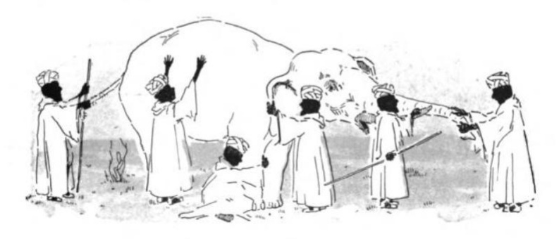 Design Thinking - Six blind men and the Elephant?