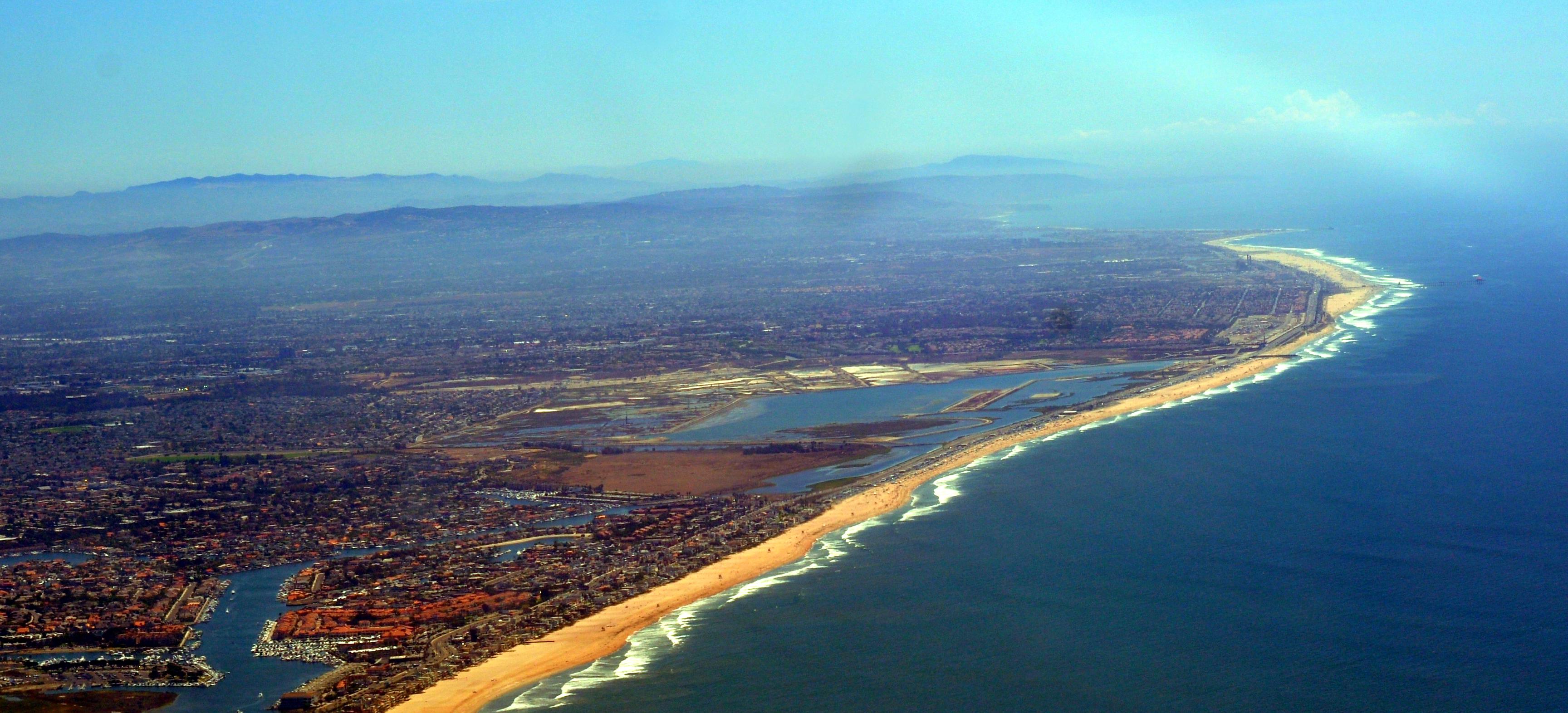 Bolsa Chica Wetlands Brightwater Trailhead Huntington Beach Ca