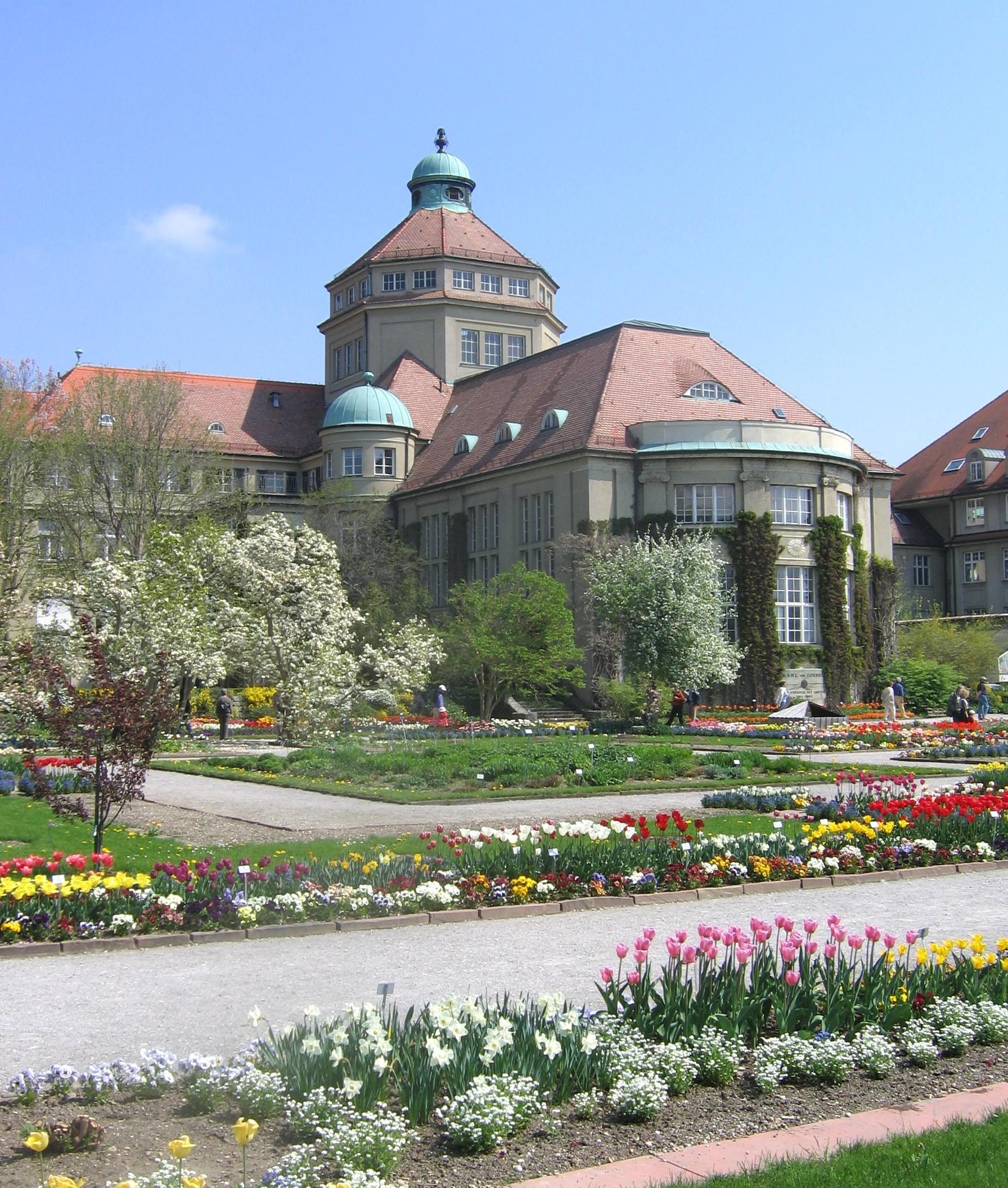 Botanischer Garten München Nymphenburg Mapionet