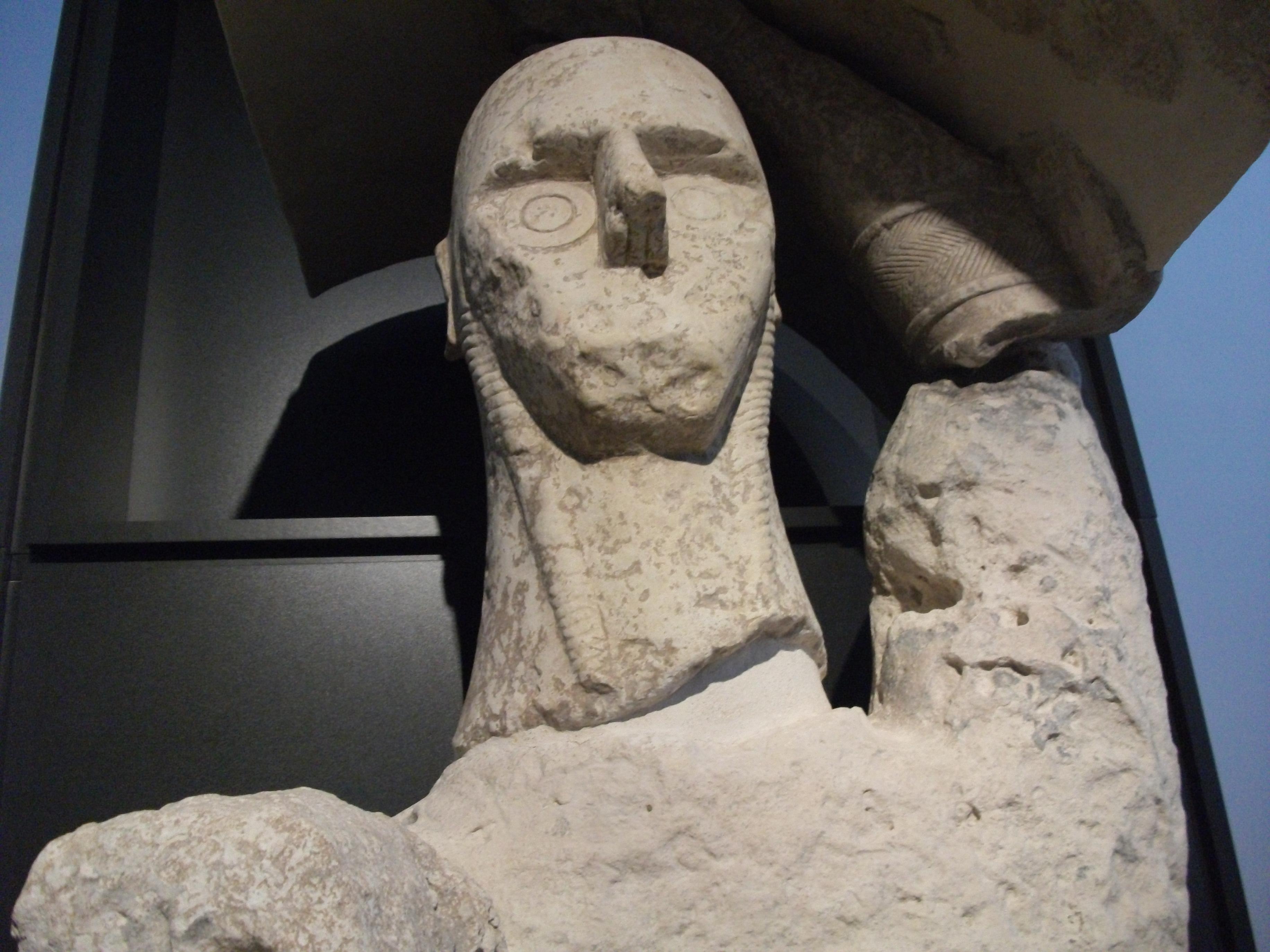 Giganti di Mont'e Prama - Museo Archeologico Nazionale