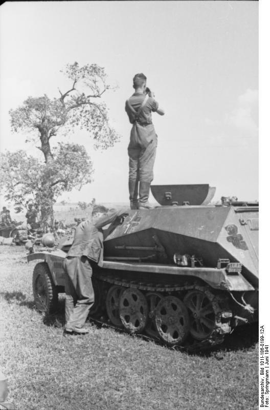 Sd Kfz 250/2 winter 1942 Russia