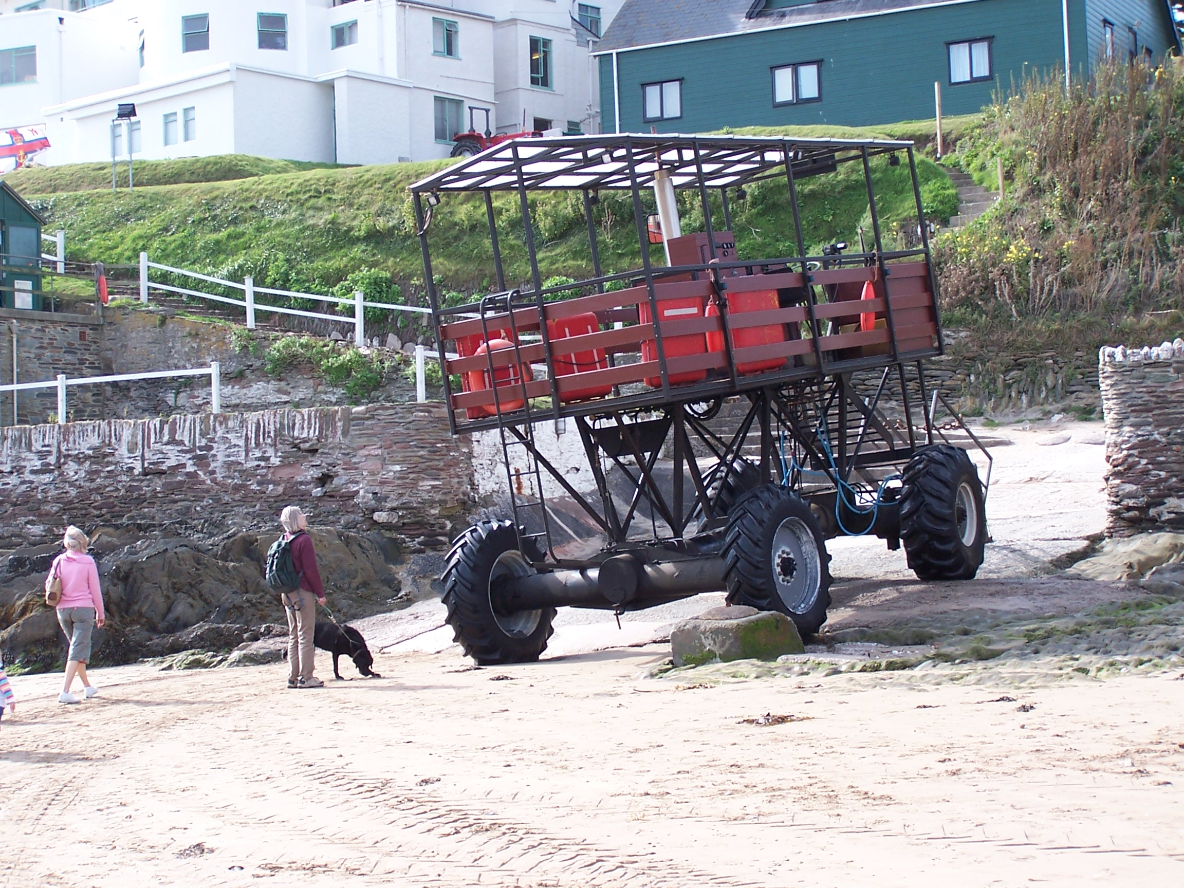 Burgh Island Tractor Times