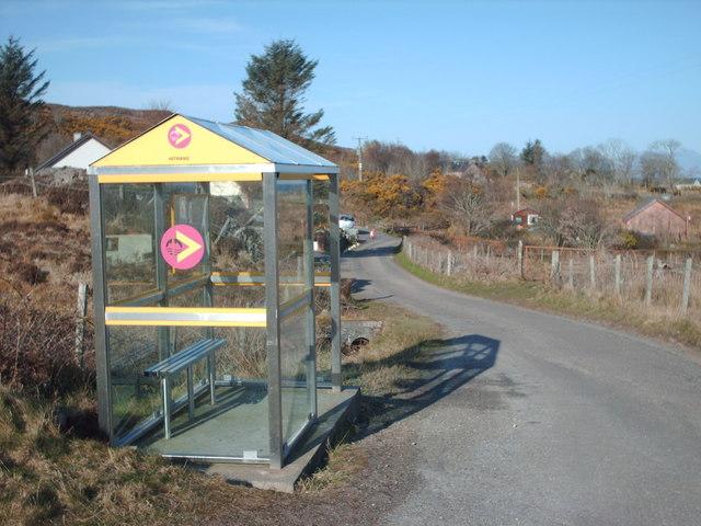File:Bus Shelter, Back Of Keppoch Road. - geograph.org.uk - 773402.jpg