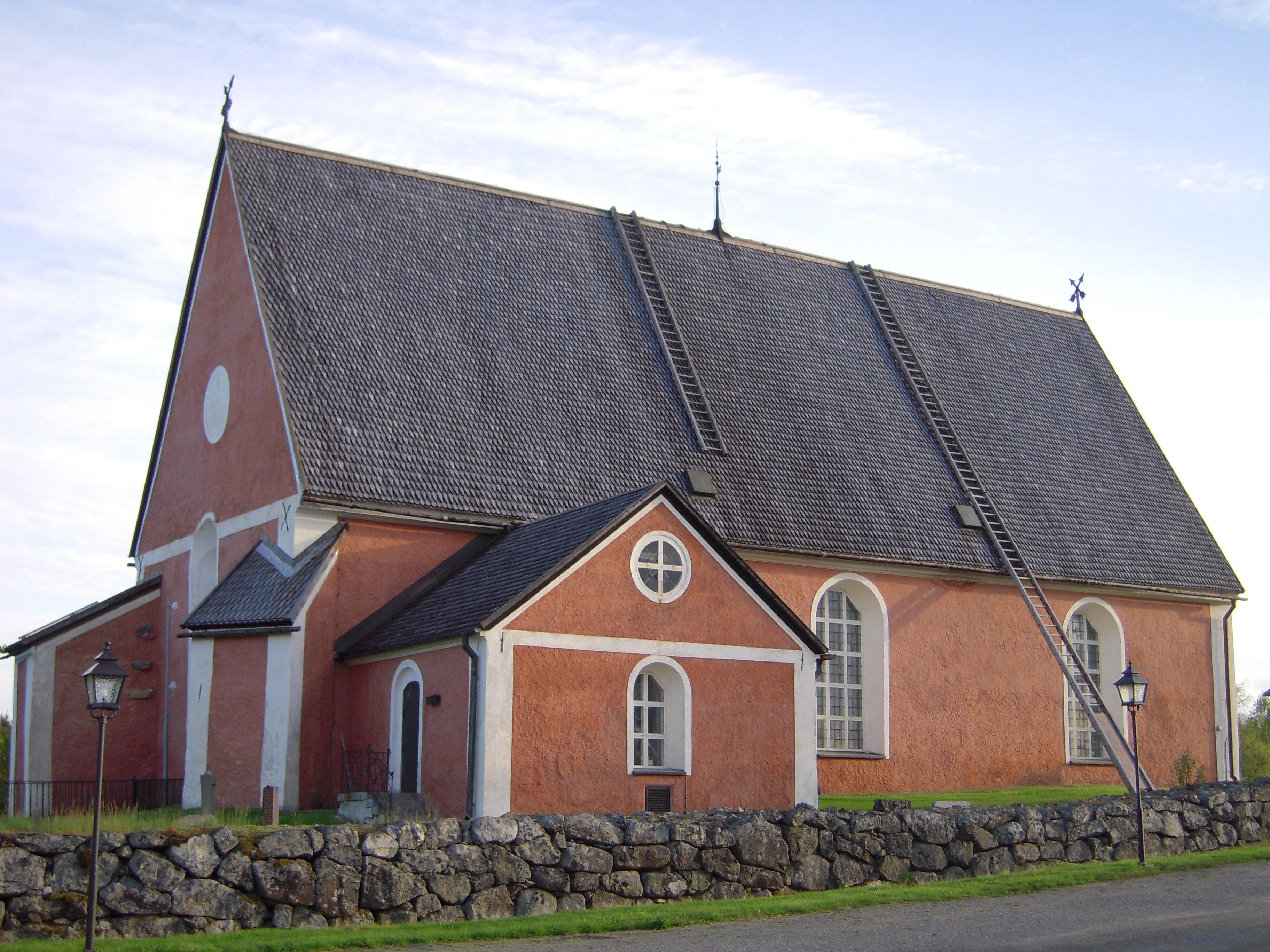 Bygdeå Church, Västerbotten, Sweden | Bygdeå church from … | Flickr