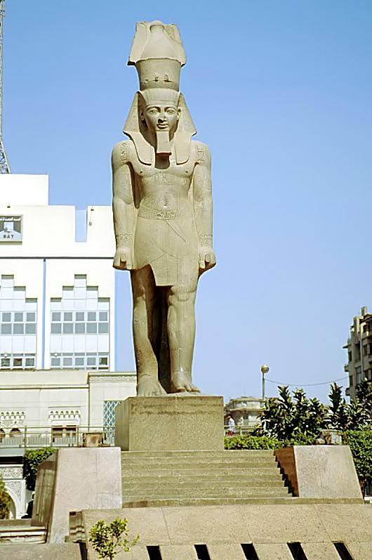 تمثال رمسيس الثاني (ميت رهينة) - ويكيبيديا، الموسوعة الحرة