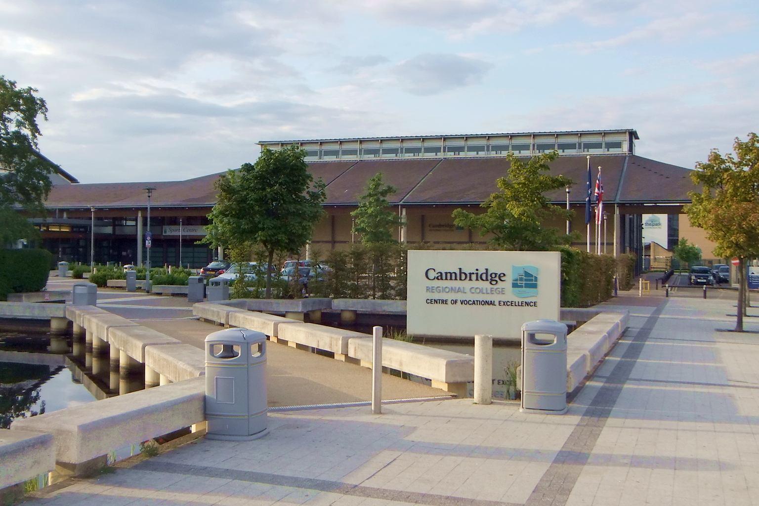 Cambridge Regional College Room Hire