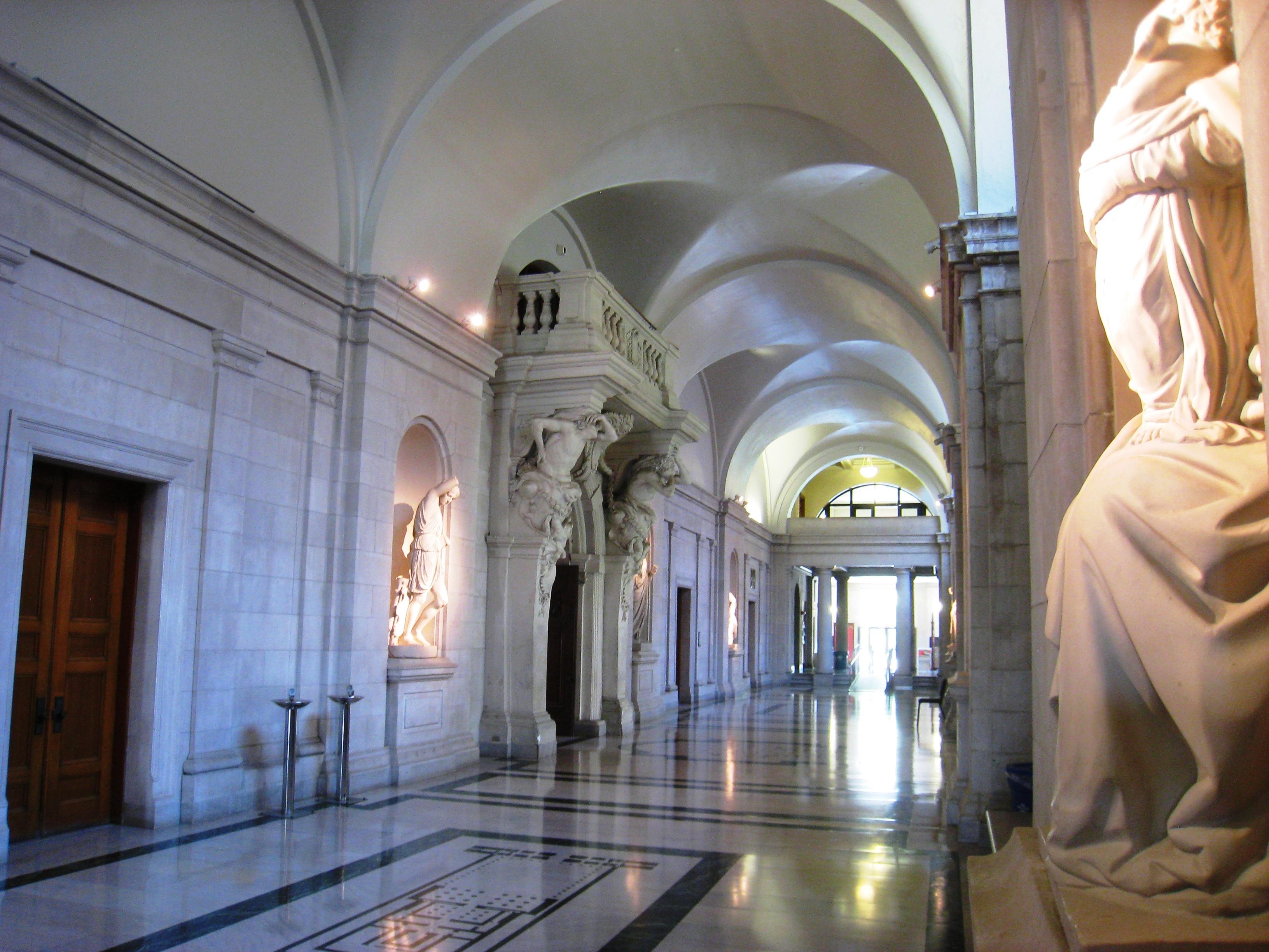 College Hallway 1