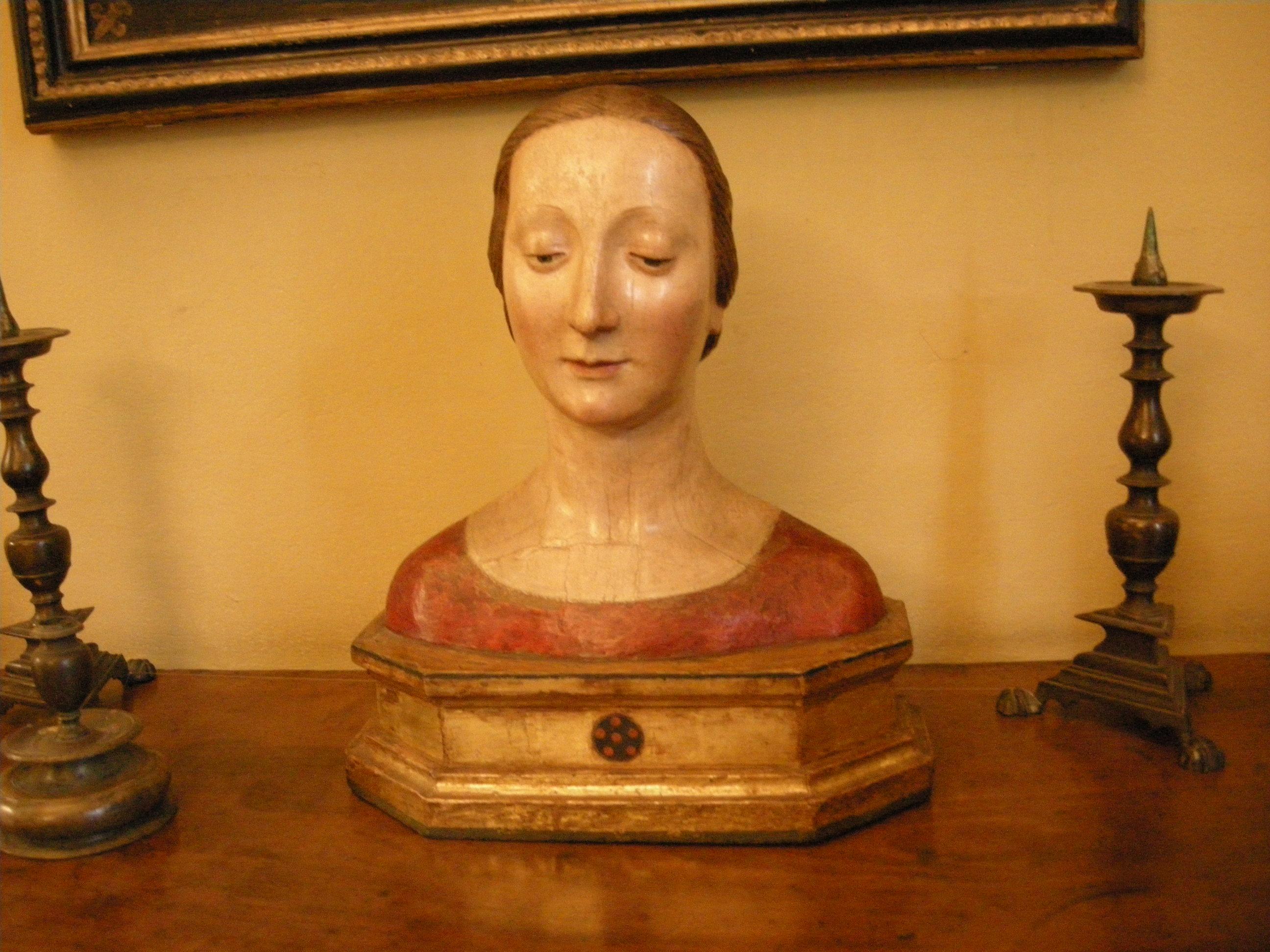 File:Casa Siviero Sala Da Pranzo Busto Reliquiario.JPG Wikimedia  #666666 2592 1944 Zona Sala Da Pranzo