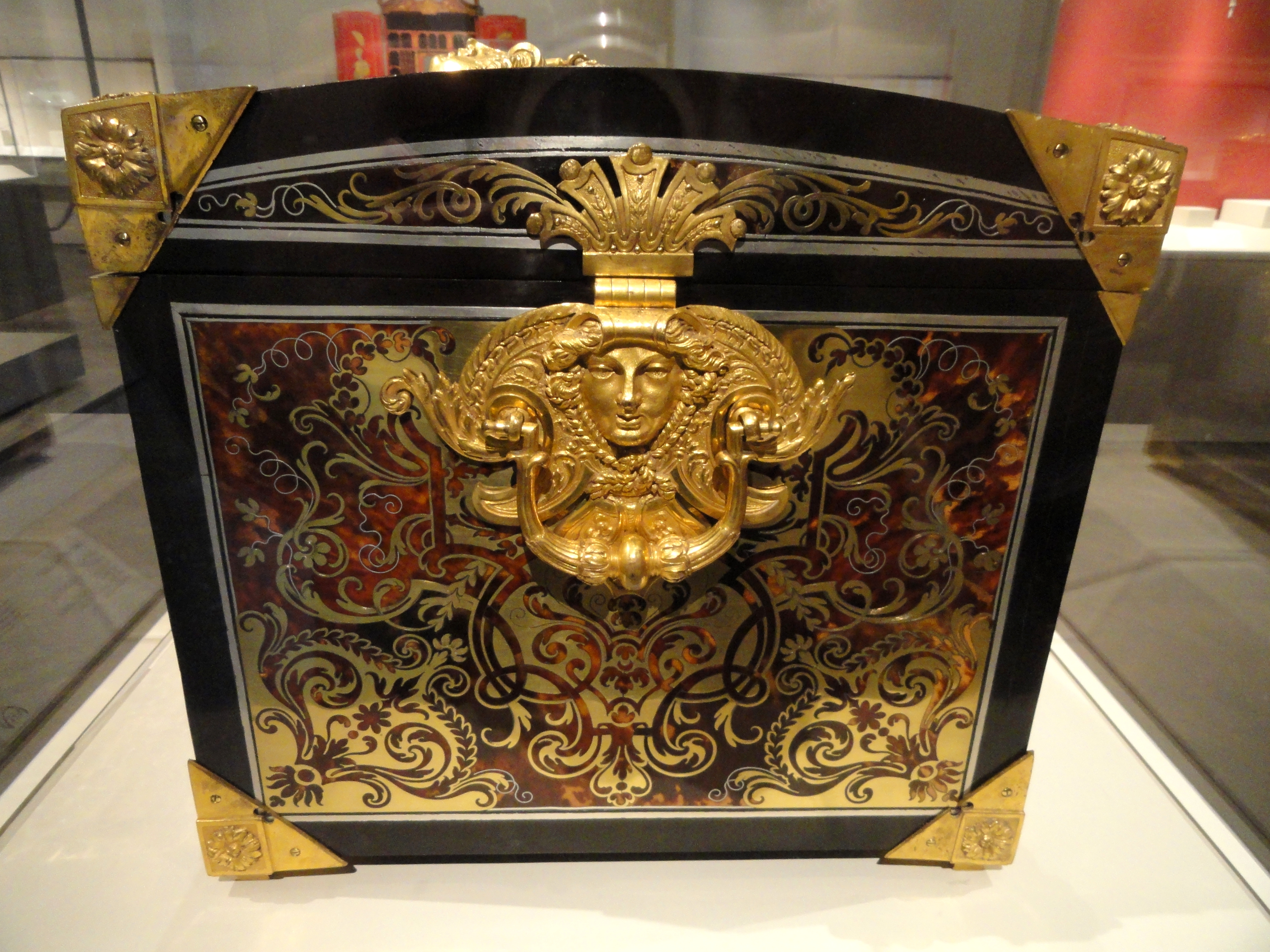 File Casket Early 18th Century Attributed To Andre