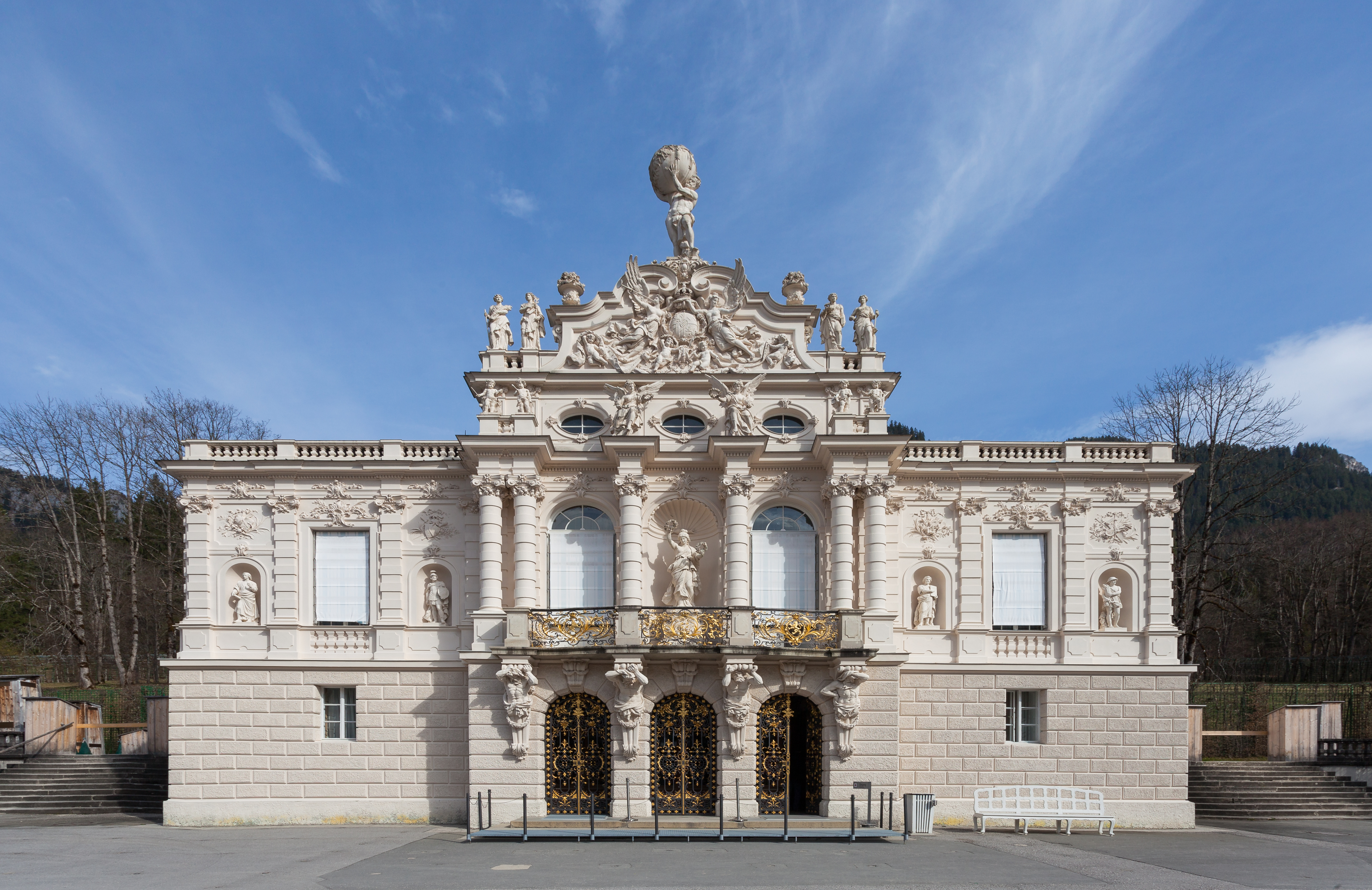 File:Castillo Linderhof, Baviera, Alemania, 2014-03-22, DD ...