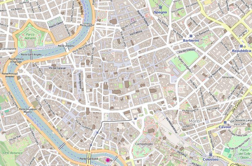 Cartina Centro Roma.File Centro Storico Roma Mappa Jpg Wikipedia