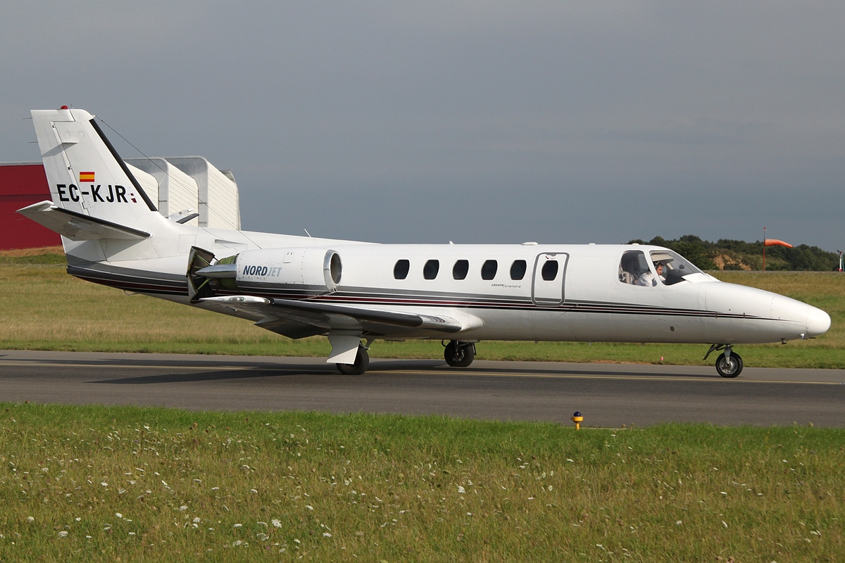 Cessna Citation Ii Sp C Nordjet Airlines Jp