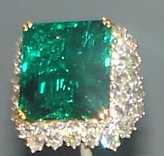 Carat Emerald Cut Diamond Ring Baguette