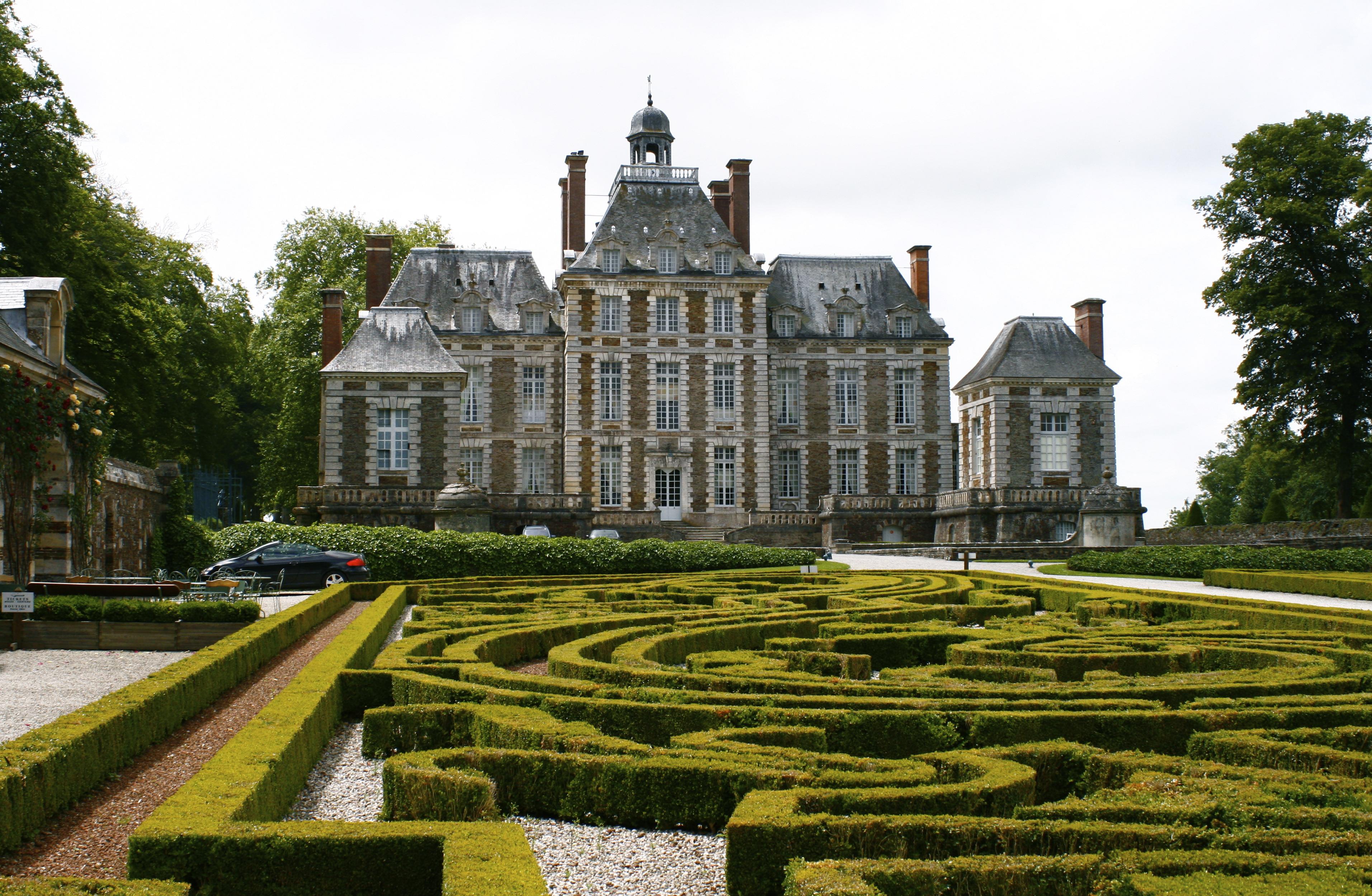 Ch teau de balleroy wikiwand for Au jardin du port le palais
