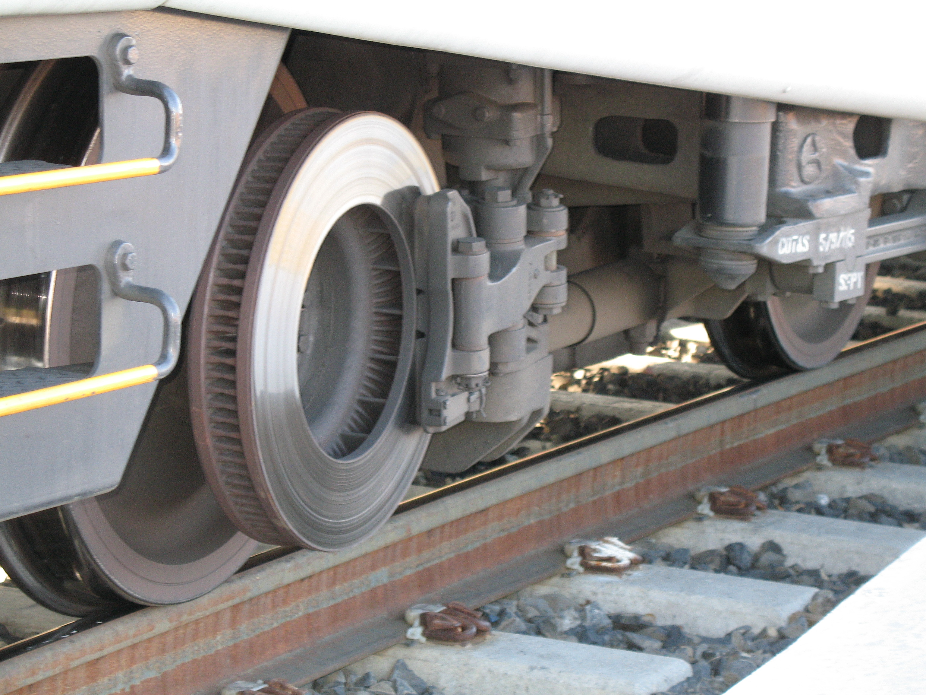 This is what catastrophic air brake failure looks like on