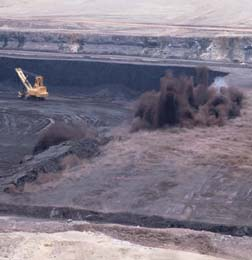 To facilitated mining of a coal seam in Gillet...
