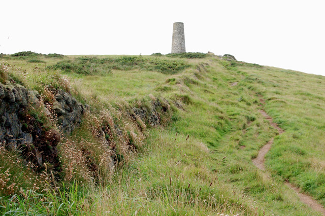 Coastpath west of Stepper Point - geograph.org.uk - 1466267