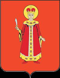 Våpenet for byen Uglitsj med tsarevitsj Demetrius