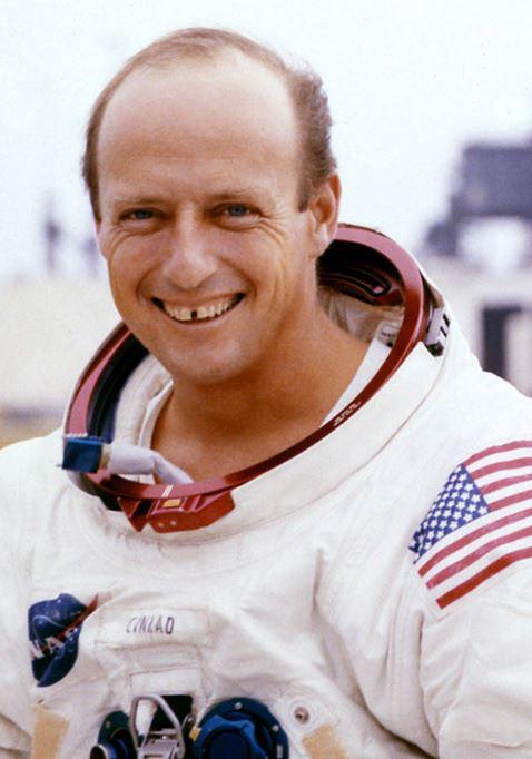 Astronaut Pete Conrad, NASA photo (29 October 1969) Source: Wikipedia (www.jsc.nasa.gov page unavailable June 2019) Conrad_cropped.jpg