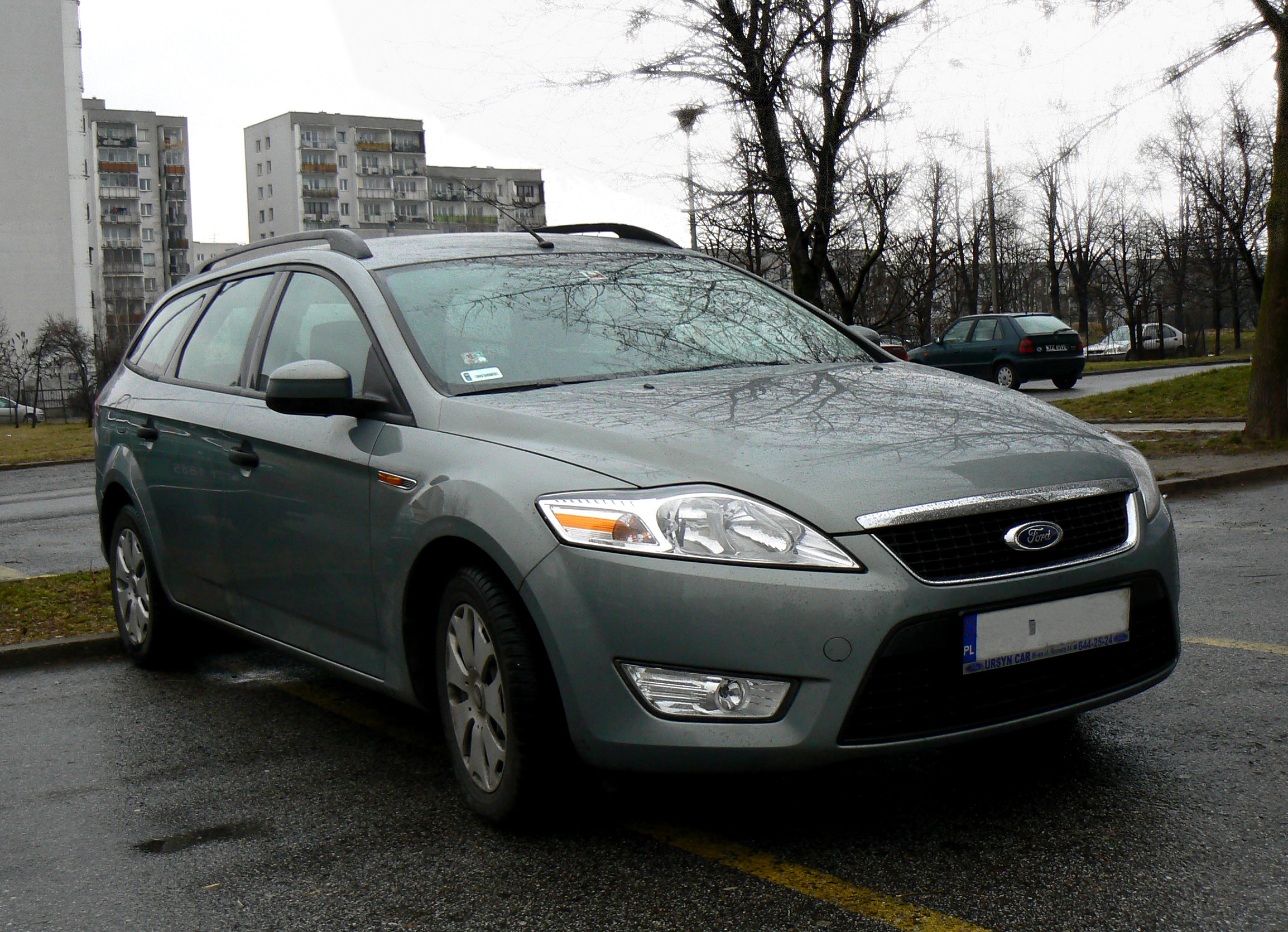 file cool gray ford mondeo mk iv estate 001 wikimedia commons. Black Bedroom Furniture Sets. Home Design Ideas