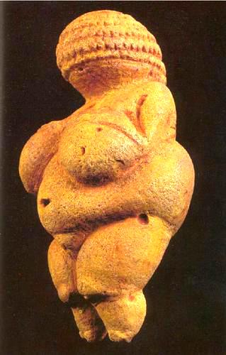 Wenus z Willendorf - 32.000 - 30.000 p.n.e.