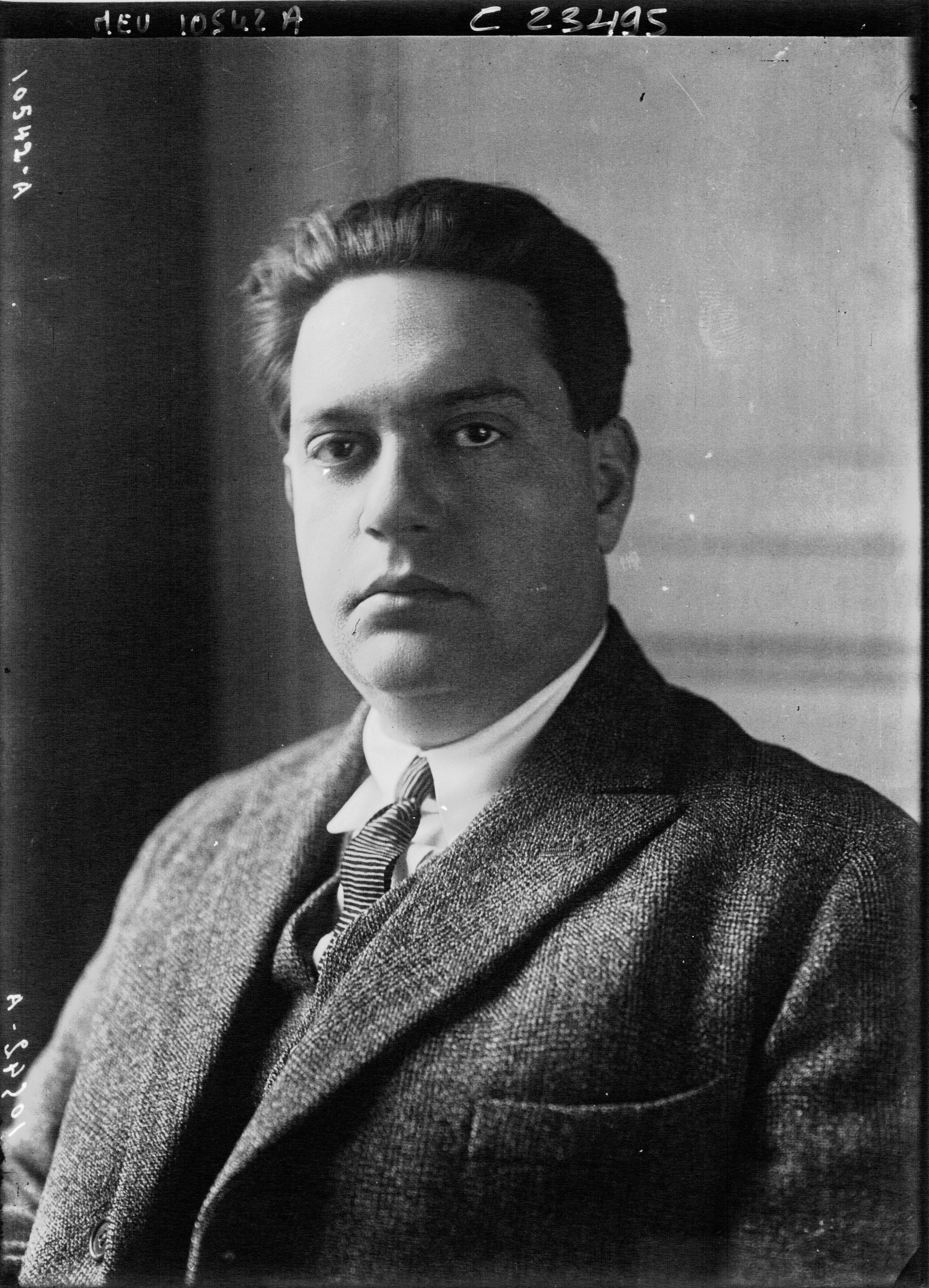 Darius Milhaud (1923)