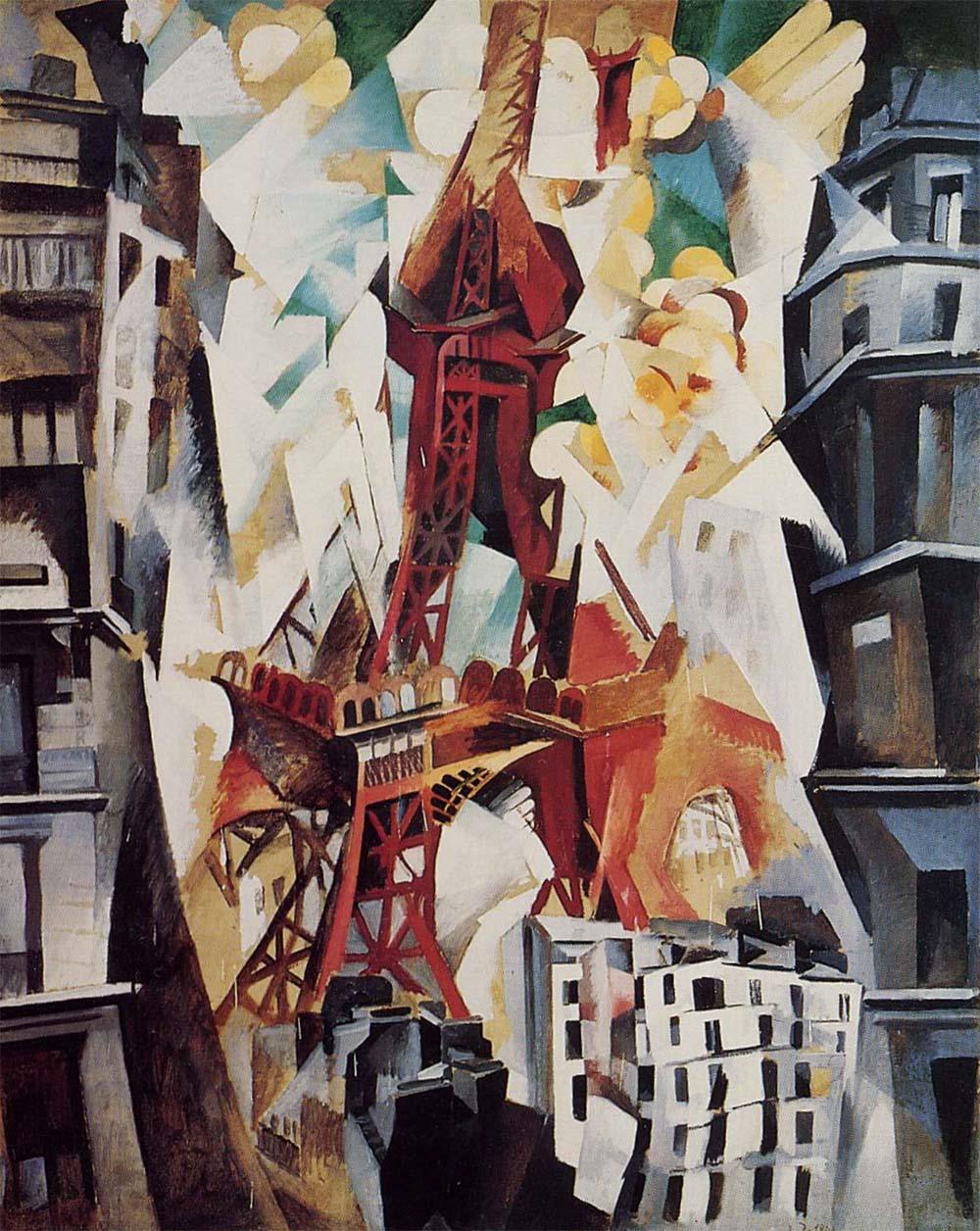 Tour Eiffel (Delaunay, 1911) — Wikipédia