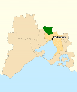 Division of Calwell 2010.png