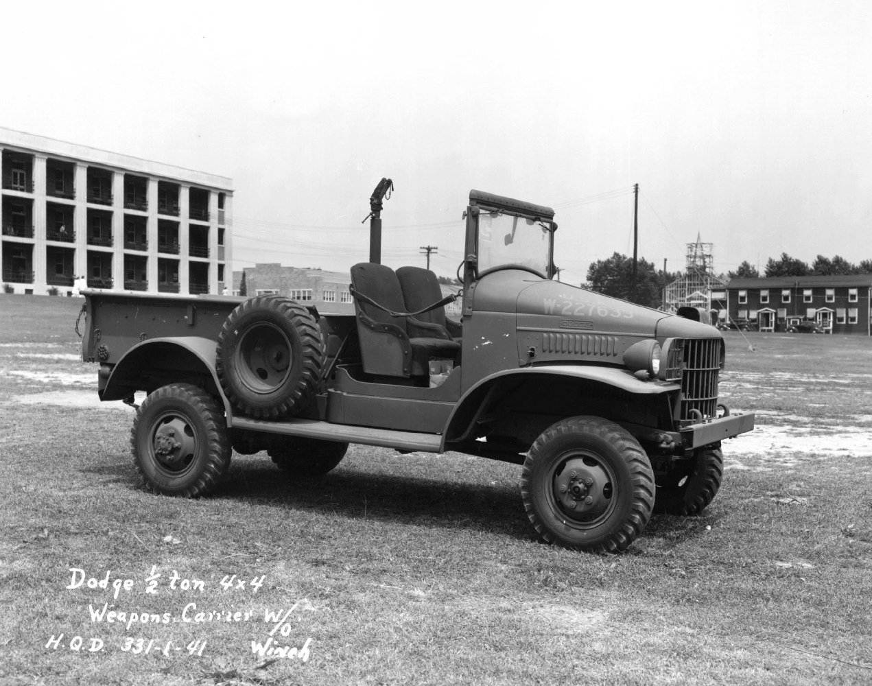 Dodge Wc Series Military Wiki Fandom Powered By Wikia 1941 Ford 3 4 Ton Pickup Truck